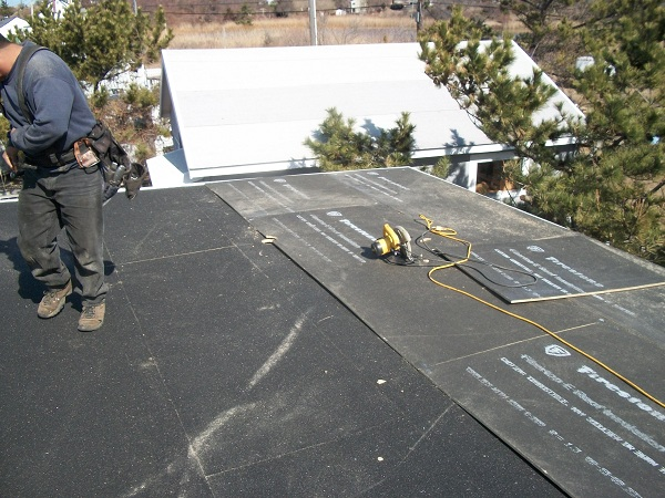 Flat Roof Installation : Flat roof installation in massapequa ny long
